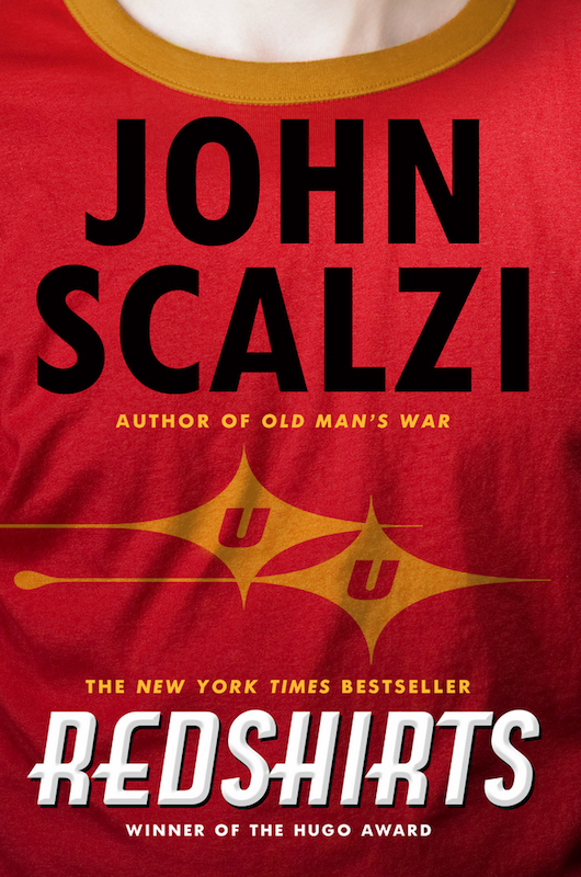 Redshirts: A Novel with Three Codas By John Scalzi.