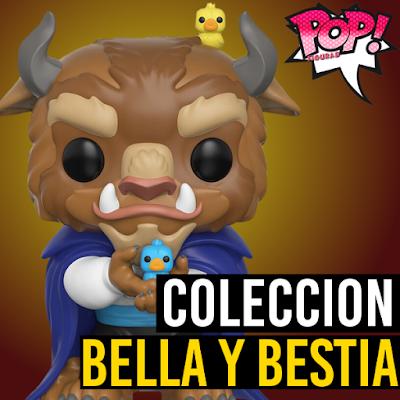 Coleccion de funko pop de Bella y bestia lista completa
