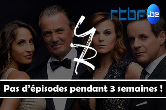 #LesFeuxdelAmour (#RTBF) | Pas d'épisode pendant 3 semaines !