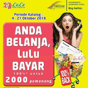 Katalog LULU Promo LULU Hypermarket Periode 04 - 21 Oktober 2018