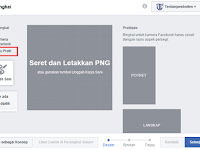 Agar bingkai fb bisa dipakai untuk profil