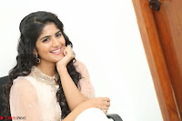 Megha Akash in beautiful Cream Transparent Anarkali Dress at Pre release function of Movie LIE ~ Celebrities Galleries 084.JPG