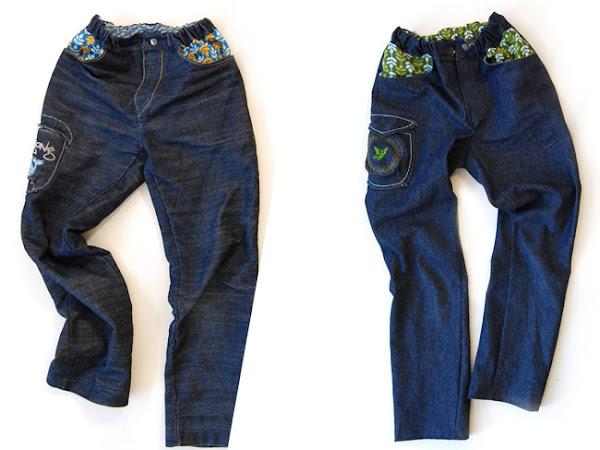 Jeans für Mädchen nähen - Tipp für eine bessere Passform