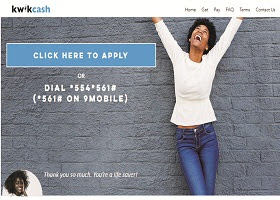 Kwikcash.ng Loan: How to Apply/Register for Kwikcash.ng and get Loan of 1000-500,000
