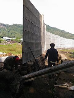 pagar beton panel precast piyungan bantul