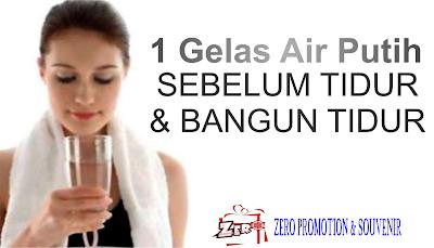 Manfaat Minum Air Putih Setelah Bangun Tidur