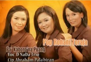 Download Lagu Toraja Pa' Kaboro'na Puang (D'Nada Trio)