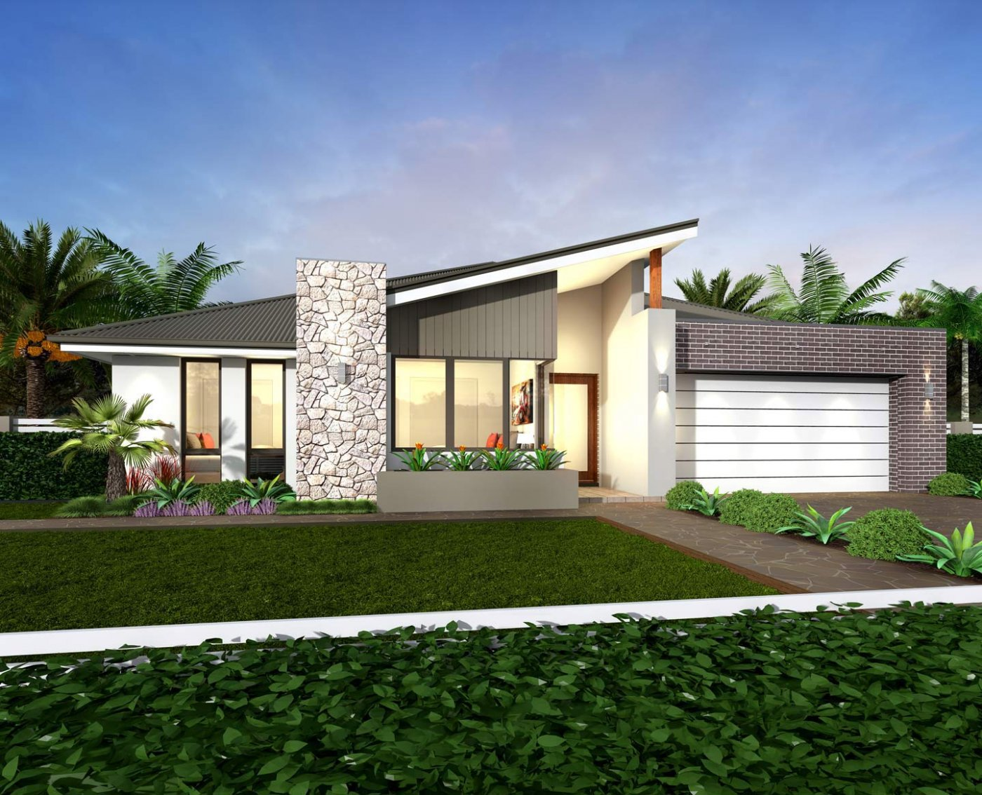 Single-story home comes with numerous benefits. So if you are considering to build one, your choice is one of the best! You may ask, what are the benefits of having a single-story house? Well, single-story homes are generally made for lower-maintenance living. Aside from this, this type of house maximizes the open plan living space because the staircase is not needed at all. Single story homes are considered to be affordable living homes because they are cheaper to build compared to two-story houses. Aside from the building and labor cost, style, functionality, and quality are the most important for homeowners when building a house. And all of these are present in a single-story home!  So if you are searching for a single-story house plans that are functional, and designed for your modern lifestyle, you can choose the following Australian house design. Floor plans are included for you to see what is inside of these new build house designs.  These houses are designed with the latest and emerging trends where you can choose from functional and convenient single-story house plans to single story homes that will suit the needs of your family. Houses that are beautifully designed to have open plan living regardless of the size of your home lot!