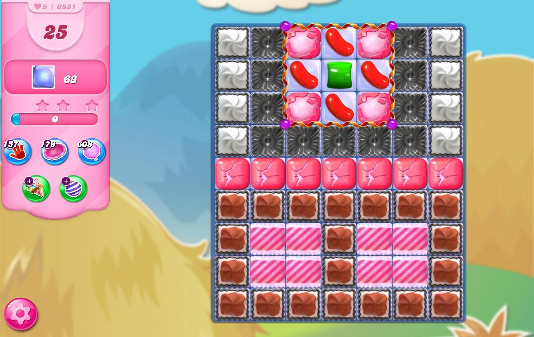 Candy Crush Saga level 6531