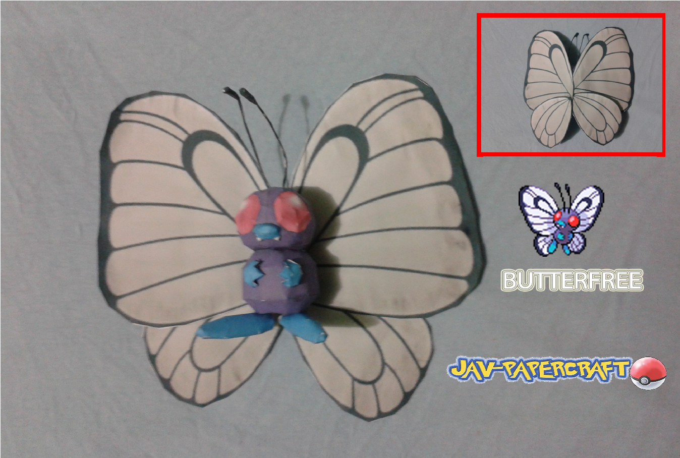 Butterfree Paper Model