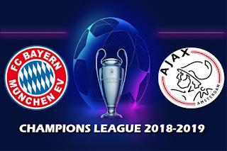Бавария – Аякс прямая трансляция онлайн 02/10 в 22:00 МСК.