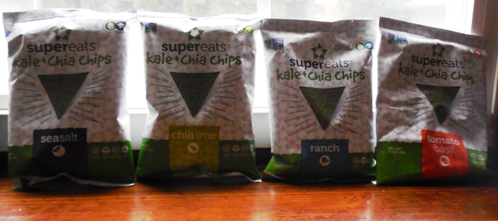 SuperEats Kale + Chia Chips