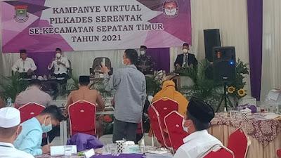 Kecamatan Sepatan Timur Gelar Kampanye Virtual Pilkades Serentak