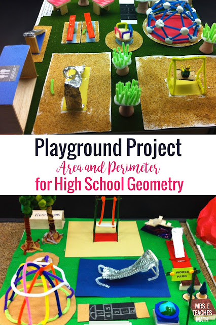 Need an area and perimeter project?  This is a fun project based learning activity for middle school or high school geometry!