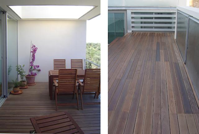 Tarimas de madera de exterior espacios en madera - Tarima de exterior ...