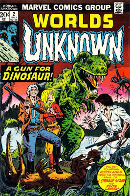 Marvel Comics, Worlds Unknown #2, A Gun For A Dinosaur