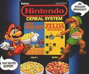 Cereales Nintendo
