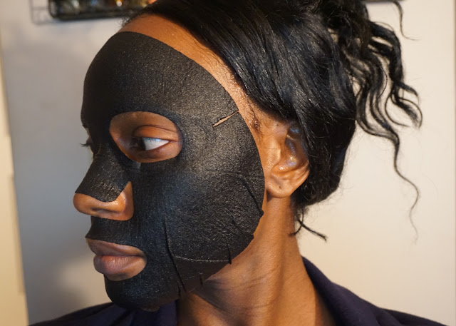 My Scheming Raw Job's Tears Brightening Black Mask | bellanoirbeauty.com