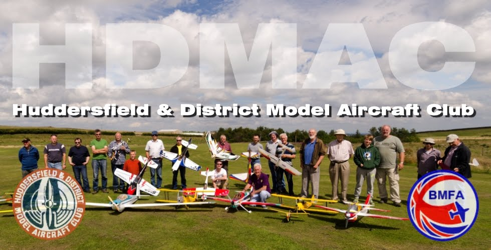 Huddersfield and District Model Aircraft Club: Flying Sites