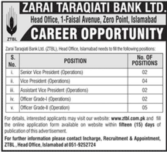 faculty-required-in-zarai-taraqiati