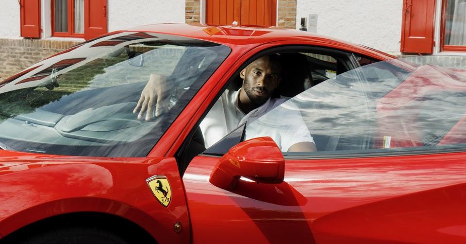 Kobe Jumping Over Car >> Legends Meet When Kobe Bryant Makes Pilgrimage To Maranello