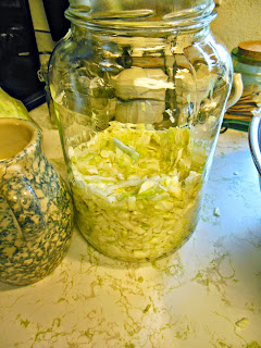 How to make Homemade Sauerkraut.