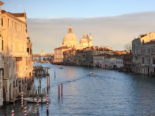 The Grand Canal, looking towards Santa Maria della Salute