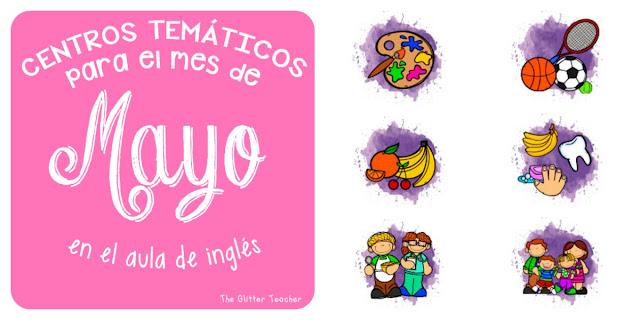 Ideas y centros temáticos para el aula de inglés en educación infantil y el primer ciclo de educación primaria: arte, comida, hábitos saludables, deportes, familia, trabajos