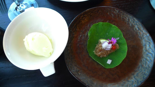 The Vegetarian Set Menu at Chaophraya Thai Dining Restaurant