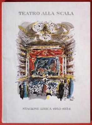 Bergman - Rossellini: autografi su programma teatrale - collezionismo