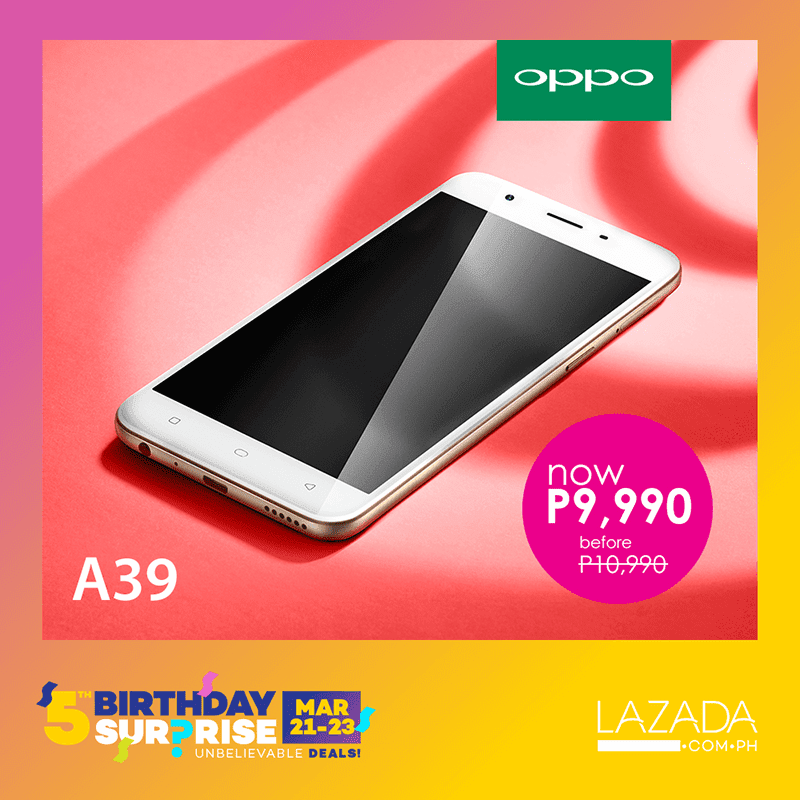 oppo-a39-lazada List Of OPPO Smartphones To Be On Sale At Lazada! Technology
