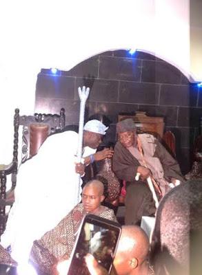 Oba Adeyeye Ogunwusi visits alake of egba