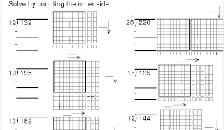 base ten block division worksheet