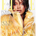 Rihanna dazzles on the cover of Elle magazine
