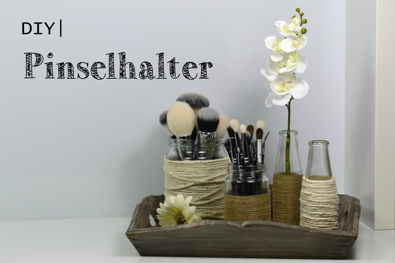 Dekosand Ikea Blushes And More Diy Pinselhalter Loctite Style Up Your
