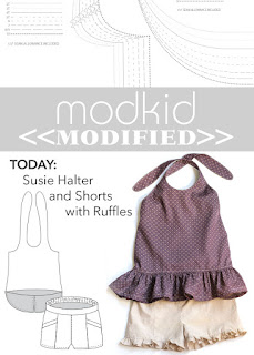 Modkid Susie with Ruffles