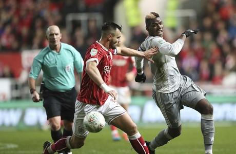 Bristol City Tendang Manchester United dari Piala Liga Inggris