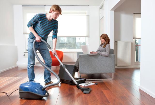 La limpieza y orden del hogar