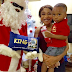 Tonto Dikeh And Son Get Their First Visit From Santa