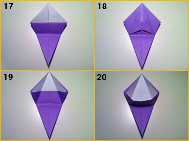 cara membuat bunga kertas sederhana