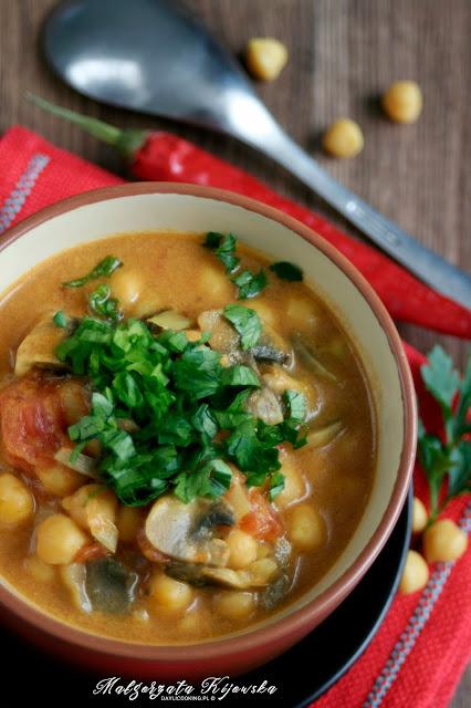 zupa, danie jednogarnkowe, wegetariański obiad, wege, vege