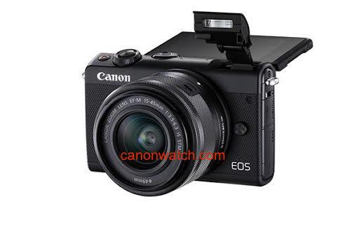 Canon EOS M100 с откидным экраном