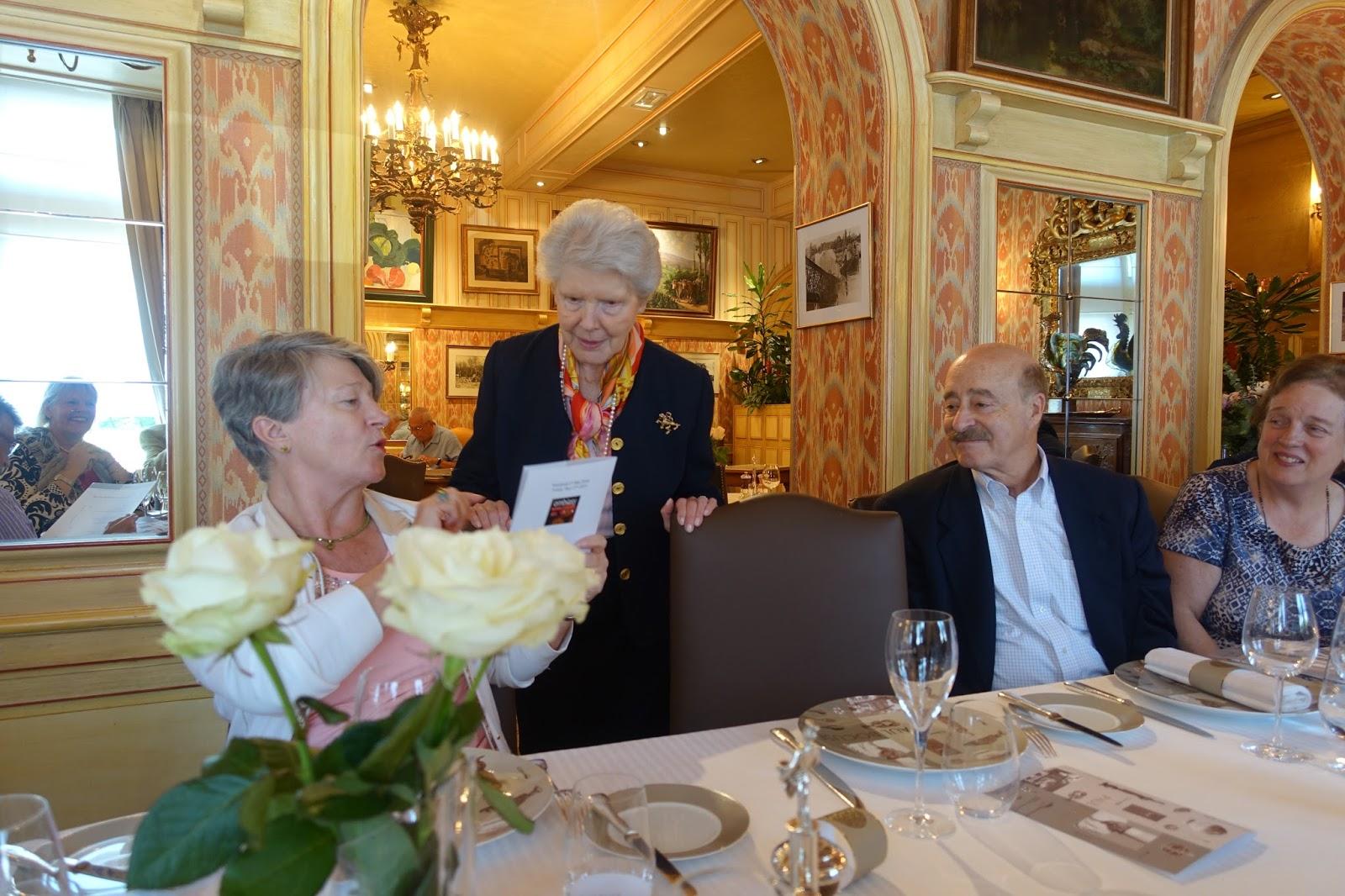 Schiller wine lunch at l auberge du pont de collonges for Auberge de la grande maison baie st paul