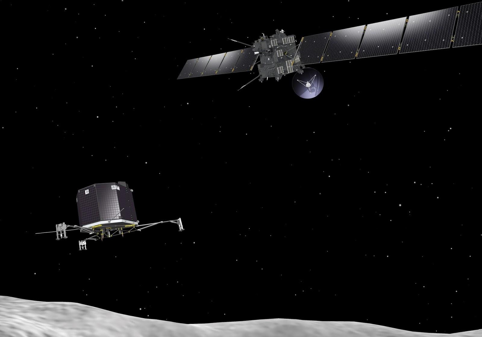 Rosetta Phones Home! | David Reneke | Space and Astronomy News