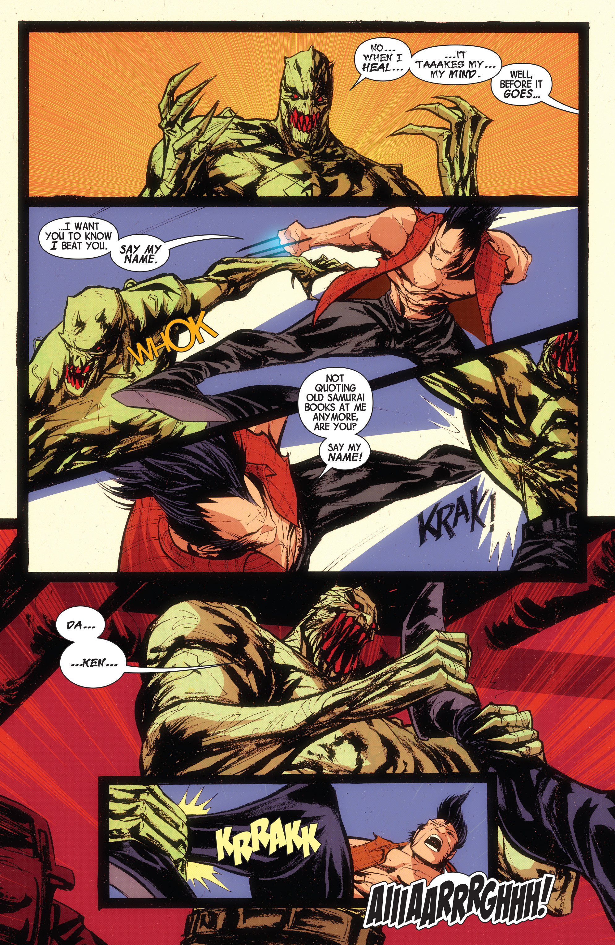 Read online Wolverines comic -  Issue #15 - 5