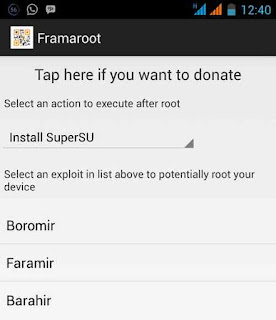rooting android - framaroot