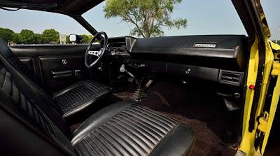 1971 Ford Torino Cobra Fastback Interior Dashboard