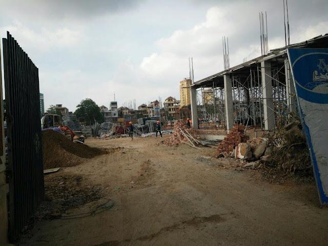 Tiến độ xây dựng dự án Vincom Shophouse Thanh thóa ngày 07/06/2016