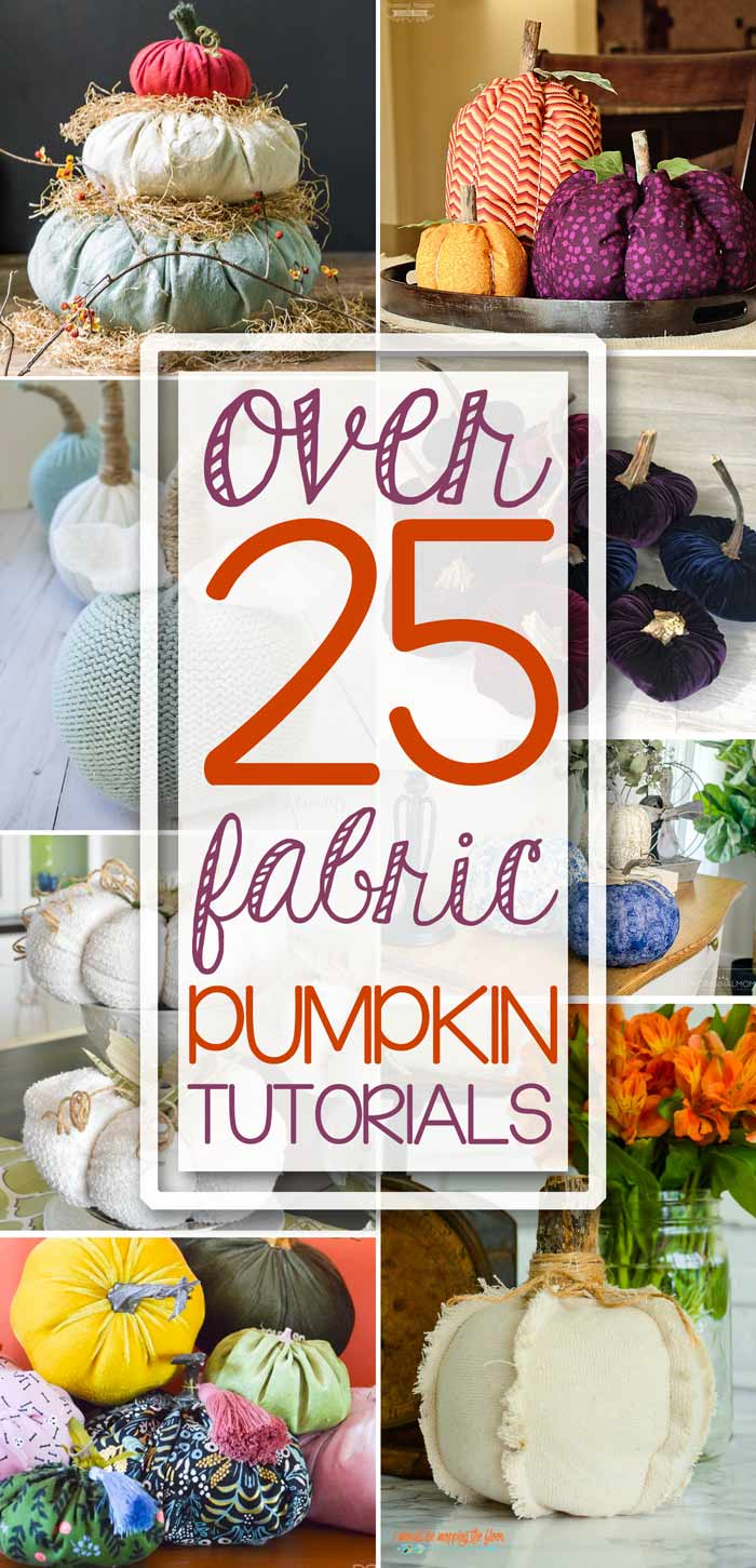 Fabric Pumpkin Patterns