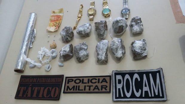 Mulher é presa em Canoinhas comercializando drogas